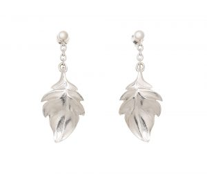 Leaf dangle studs