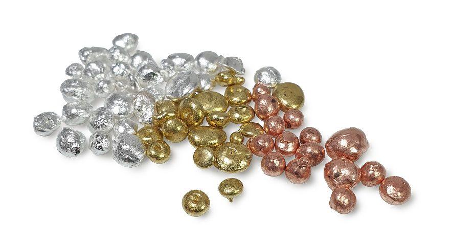 Metal granules